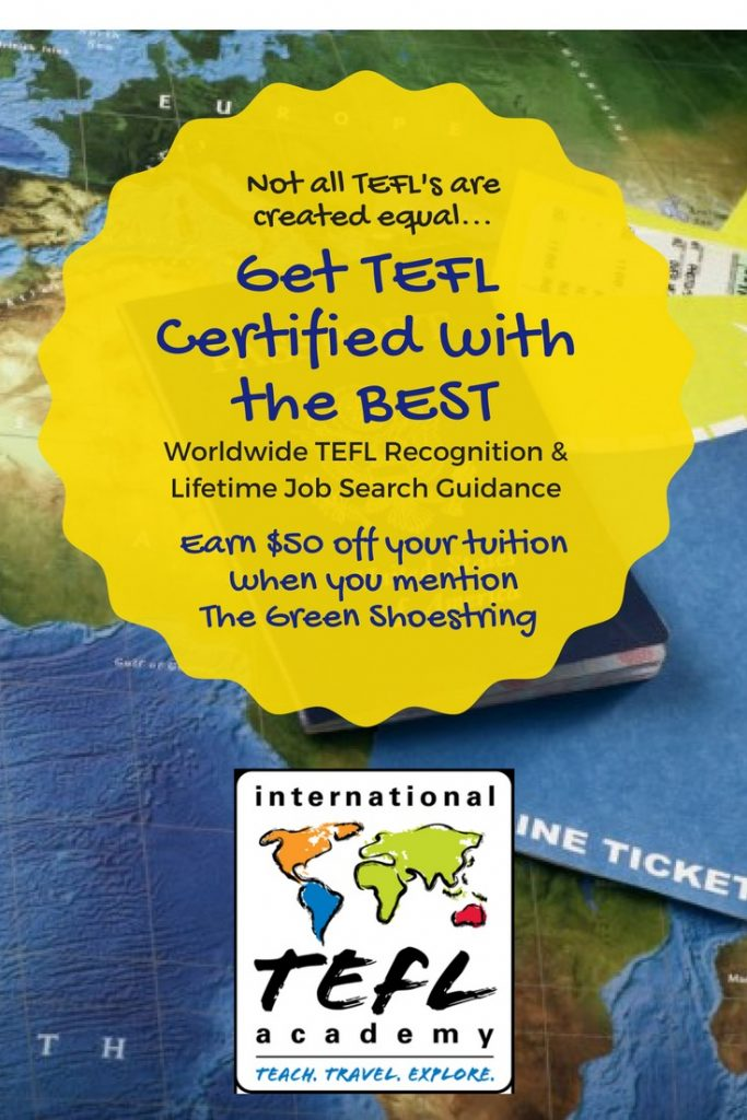 Get tefl certified with international TEFL academy