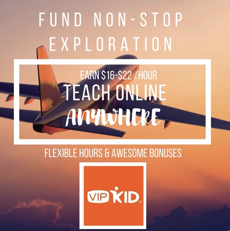 teach anywhere in the world with VIP kid
