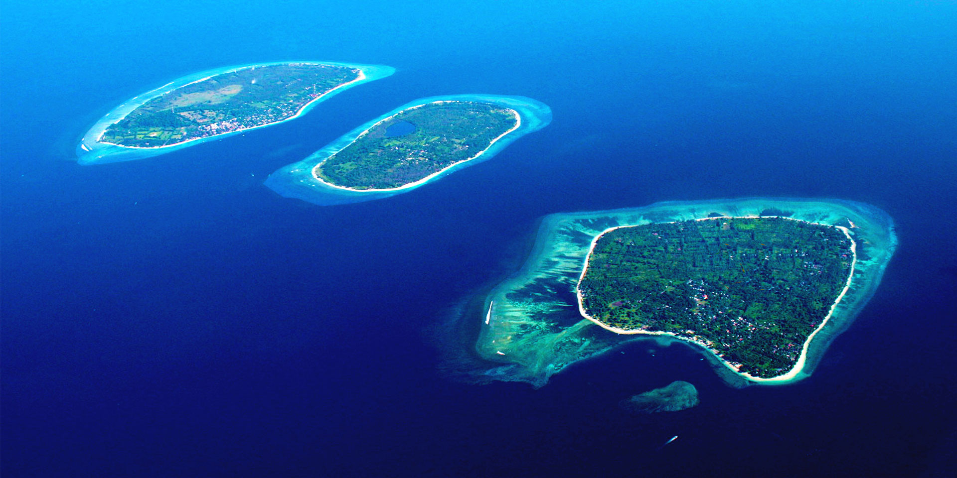 the gili islands indonesia