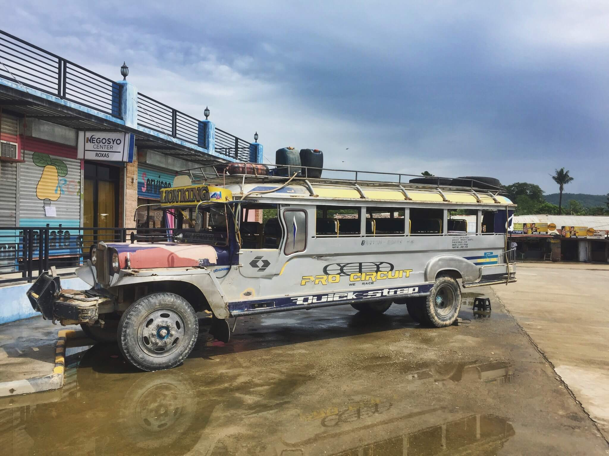 jeepney local transport in the philippines
