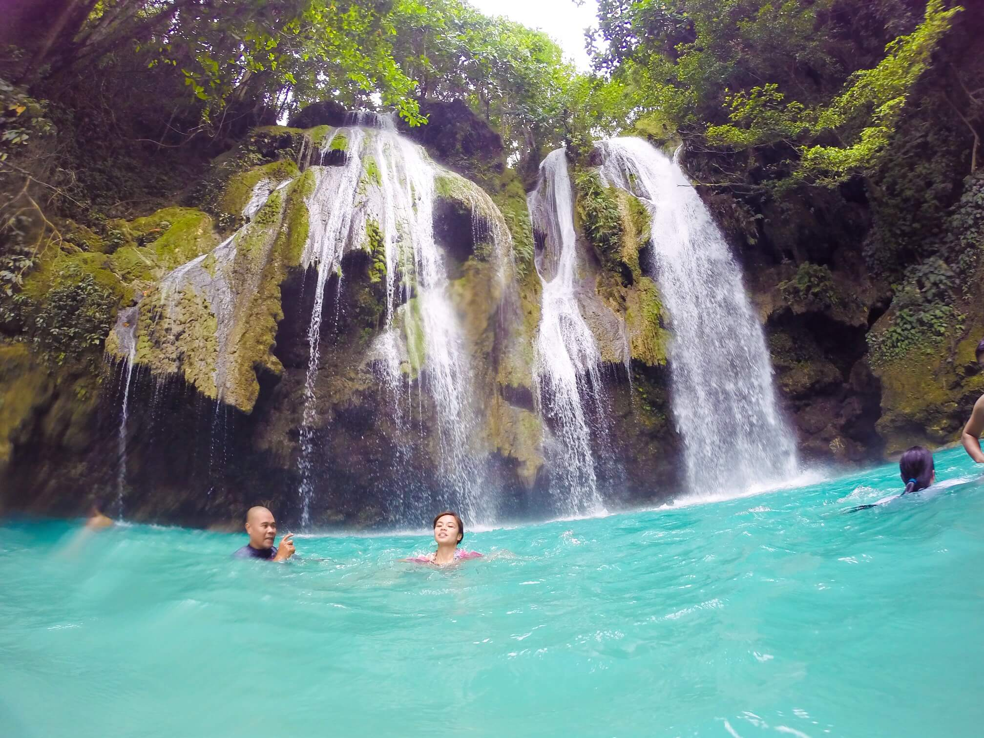 Mag-Aso Falls- located in Antequera, Eastern Bohol