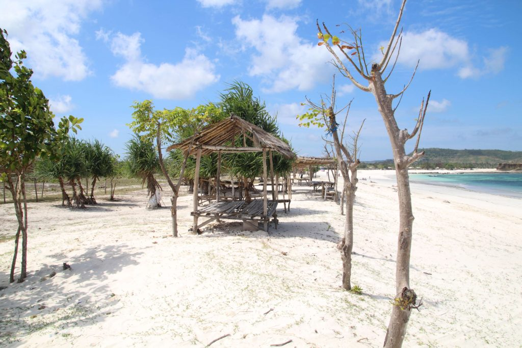 beaches of south lombok  Tanjung A'an beack lombok