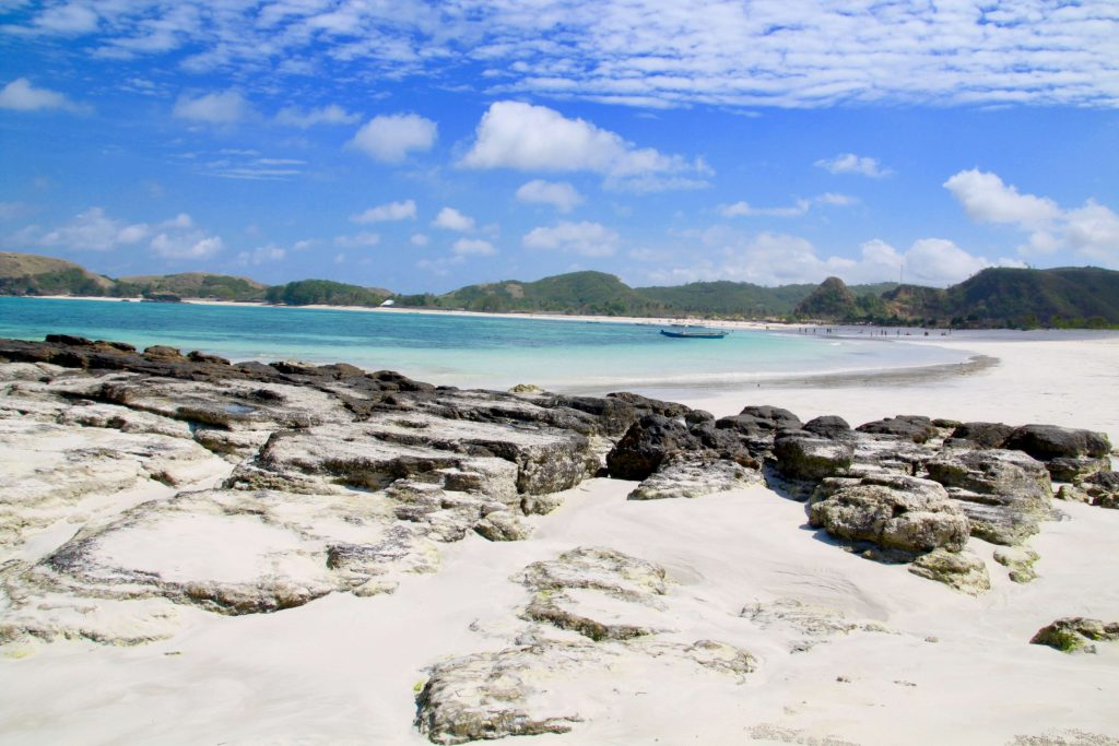 beaches of south lombok  Tanjung A'an beach
