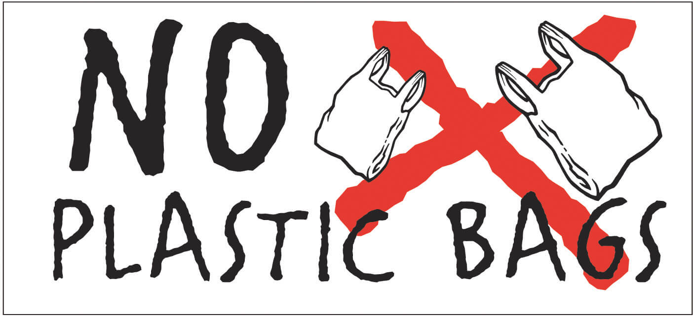 say no to plastic bags use less plastic when traveling