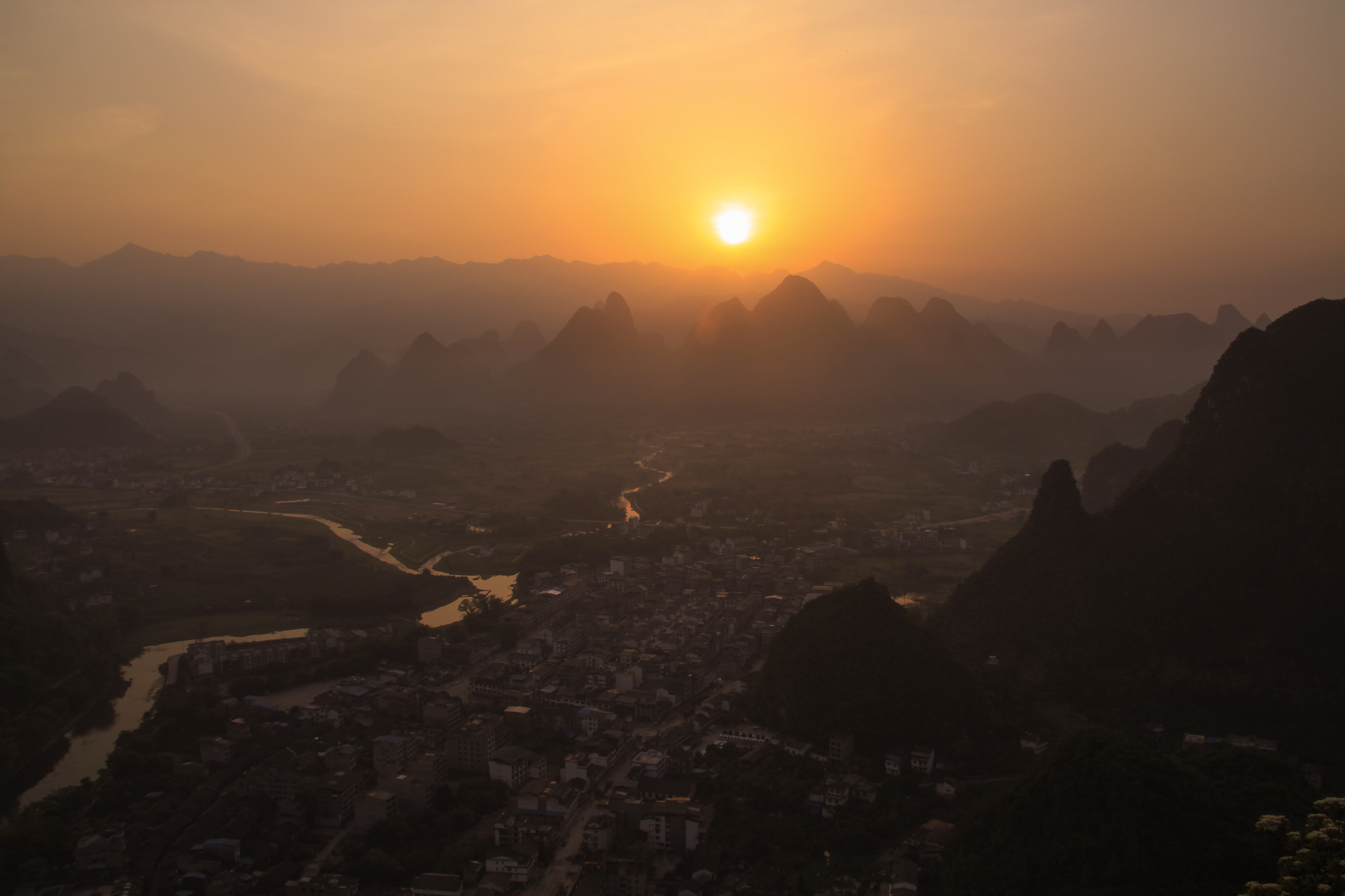 top things to do in yangshuo sunrise