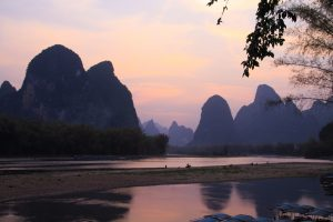 top things to do in yangshuo li river sunset