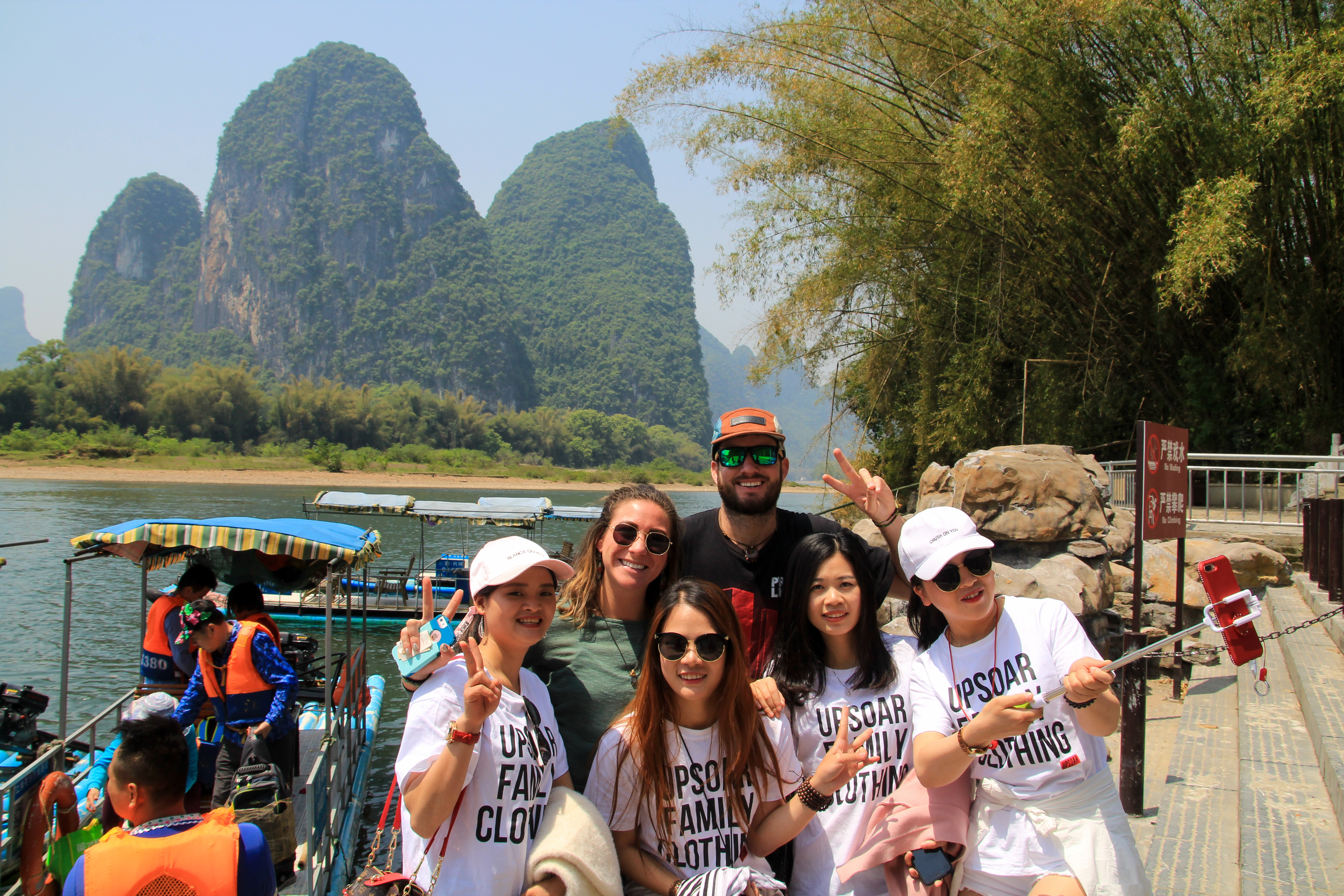 top things to do in yangshuo bamboo raft
