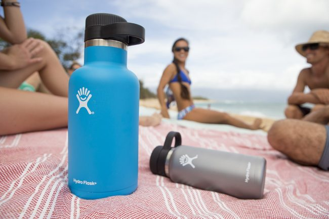 hydroflask reusable water bottle sustainable christmas gifts