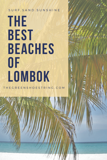 beaches of lombok pinterest